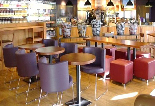 Leicester NHS Food Service Area designed by Chapel Consultants