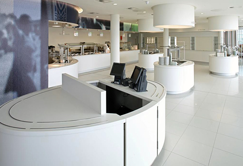 Newham Borough Council Food Service Area designed by Chapel Consultants