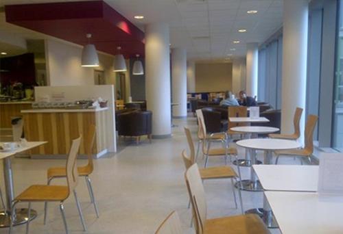 Pembury Hospital Food Service Area designed by Chapel Consultants